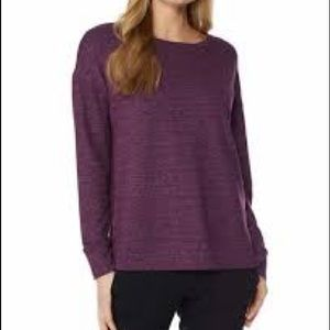 32 Degrees Purple Fleece Top Ladies Size XXL NWOT